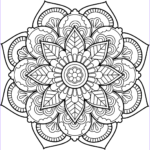 Free Mandala Coloring Pages For Adults Awesome Photos Flower Mandala Coloring Pages Best Coloring Pages For Kids