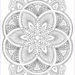 Free Mandala Coloring Pages For Adults Cool Gallery Abstract Mandala Coloring Page For Adults Digital Download
