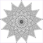 Free Mandala Coloring Pages For Adults Inspirational Photos Free Printable Geometric Coloring Pages For Kids