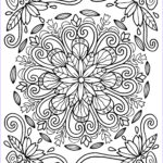 Free Mandala Coloring Pages For Adults Luxury Images Mandala Coloring Pages Nature To Print Coloring For Kids