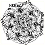 Free Mandala Coloring Pages Pdf Inspirational Images 100 Best Printable Mandalas To Color Free Images On
