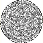 Free Mandala Coloring Pages Pdf New Collection 1002 Best Images About Mandalas On Pinterest