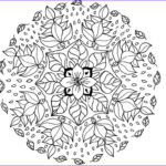 Free Mandala Coloring Pages To Print Awesome Collection Mandala Coloring Pages