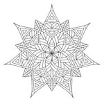 Free Mandala Coloring Pages To Print Beautiful Photos Free Printable Geometric Coloring Pages For Adults