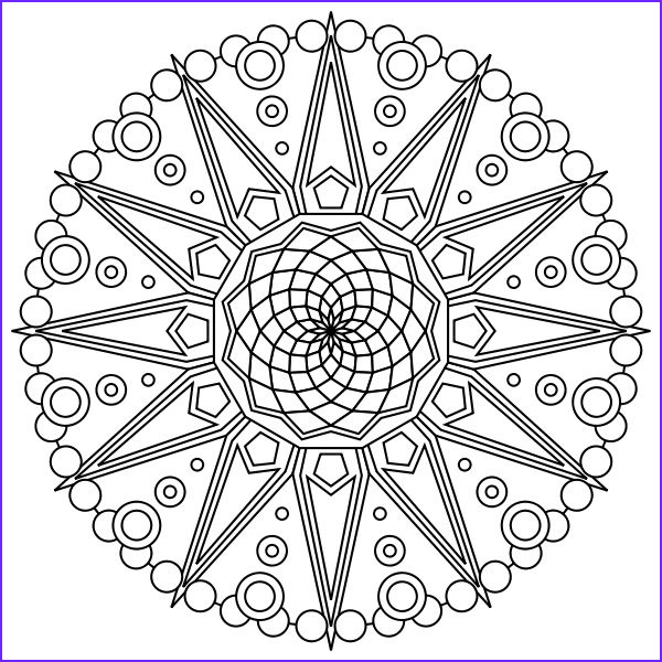 Free Mandala Coloring Pages to Print Cool Image Free Printable Mandala Coloring Pages