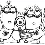 Free Minion Coloring Pages Beautiful Collection Minion Coloring Pages Best Coloring Pages For Kids