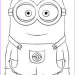Free Minion Coloring Pages Luxury Gallery Minion Dave Coloring Page