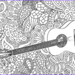 Free Music Coloring Pages Awesome Gallery 21 Best Images About Adult Coloring Music On Pinterest