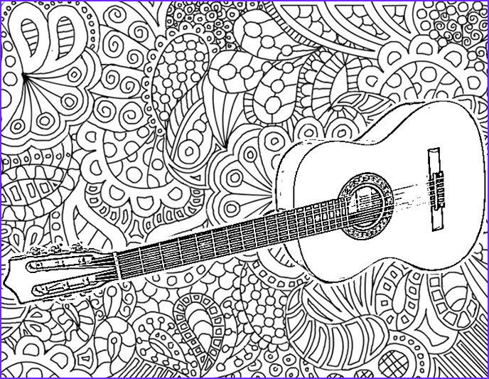 adult coloring music