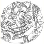 Free Music Coloring Pages Beautiful Image Music Mandala Coloring Pages At Getcolorings