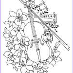 Free Music Coloring Pages Cool Images Kids N Fun