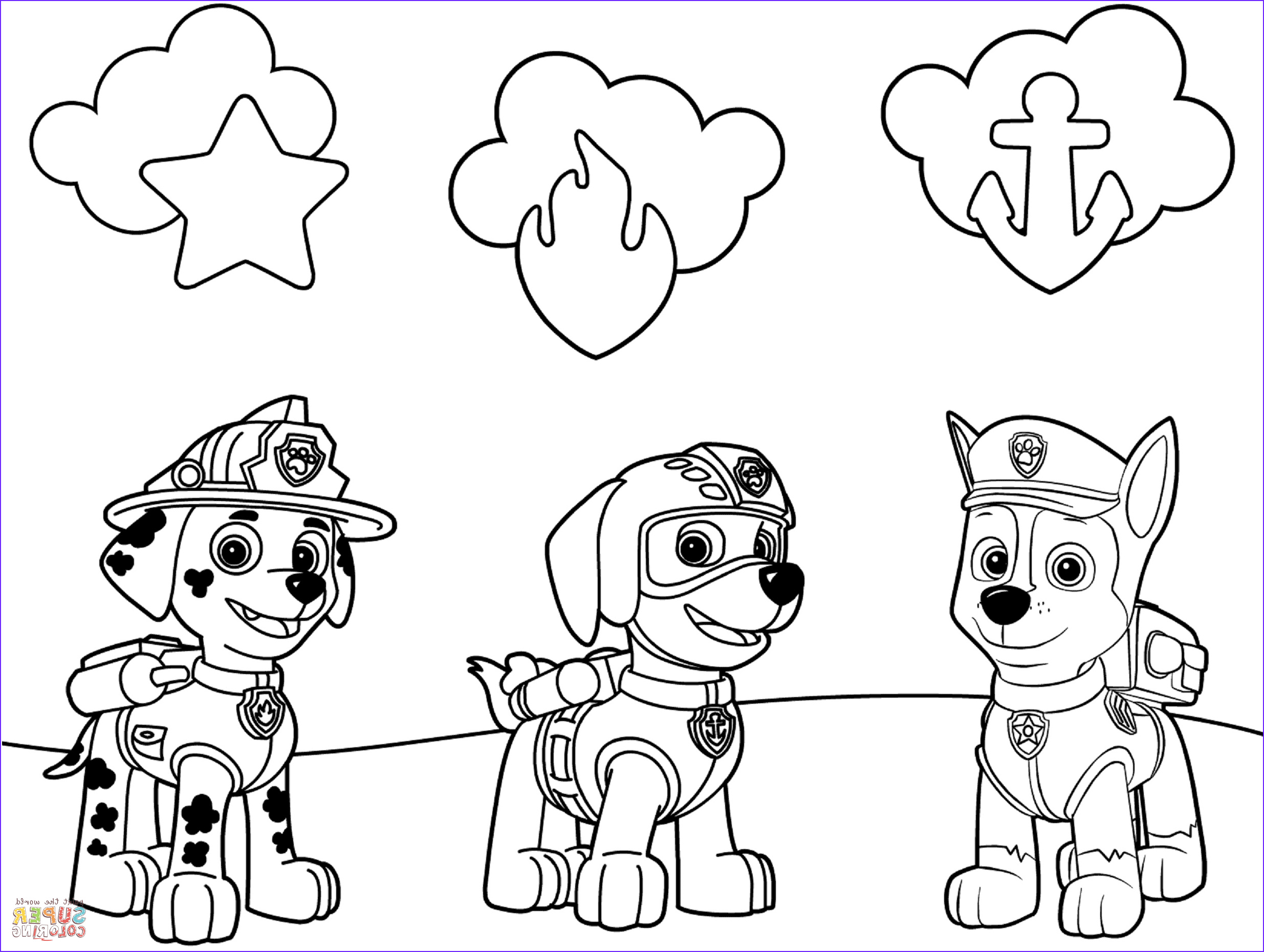 Free Paw Patrol Coloring Pages Beautiful Photography Paw Patrol Badges Coloring Page