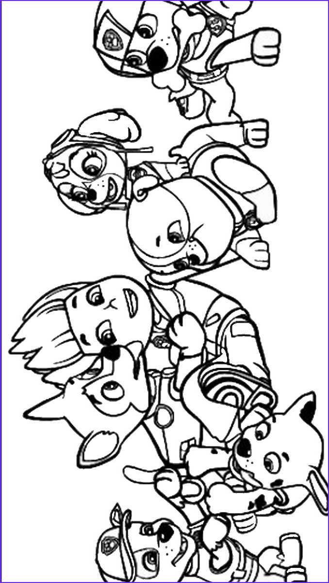 Free Paw Patrol Coloring Pages Inspirational Gallery Paw Patrol Coloring Pages