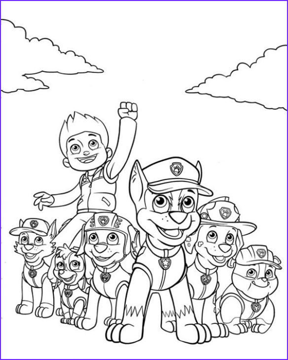 Free Paw Patrol Coloring Pages Inspirational Stock Free Nick Jr Paw Patrol Printable Coloring Page for Kids