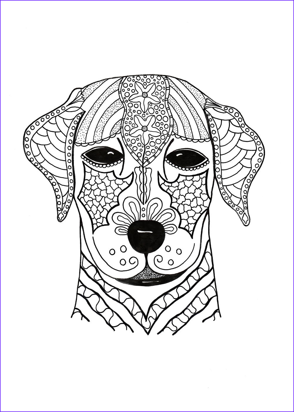 Free Printable Advanced Coloring Pages Beautiful Image I Woof You Adult Coloring Page