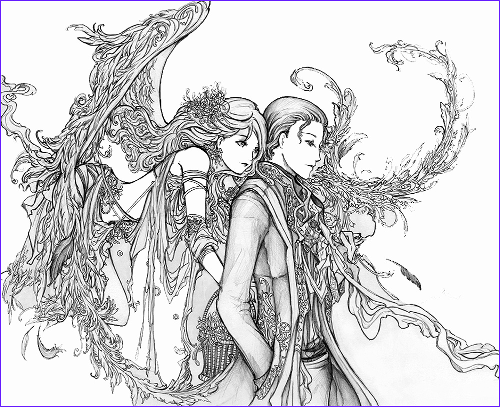 Free Printable Advanced Coloring Pages Cool Photos Fairy Coloring Pages