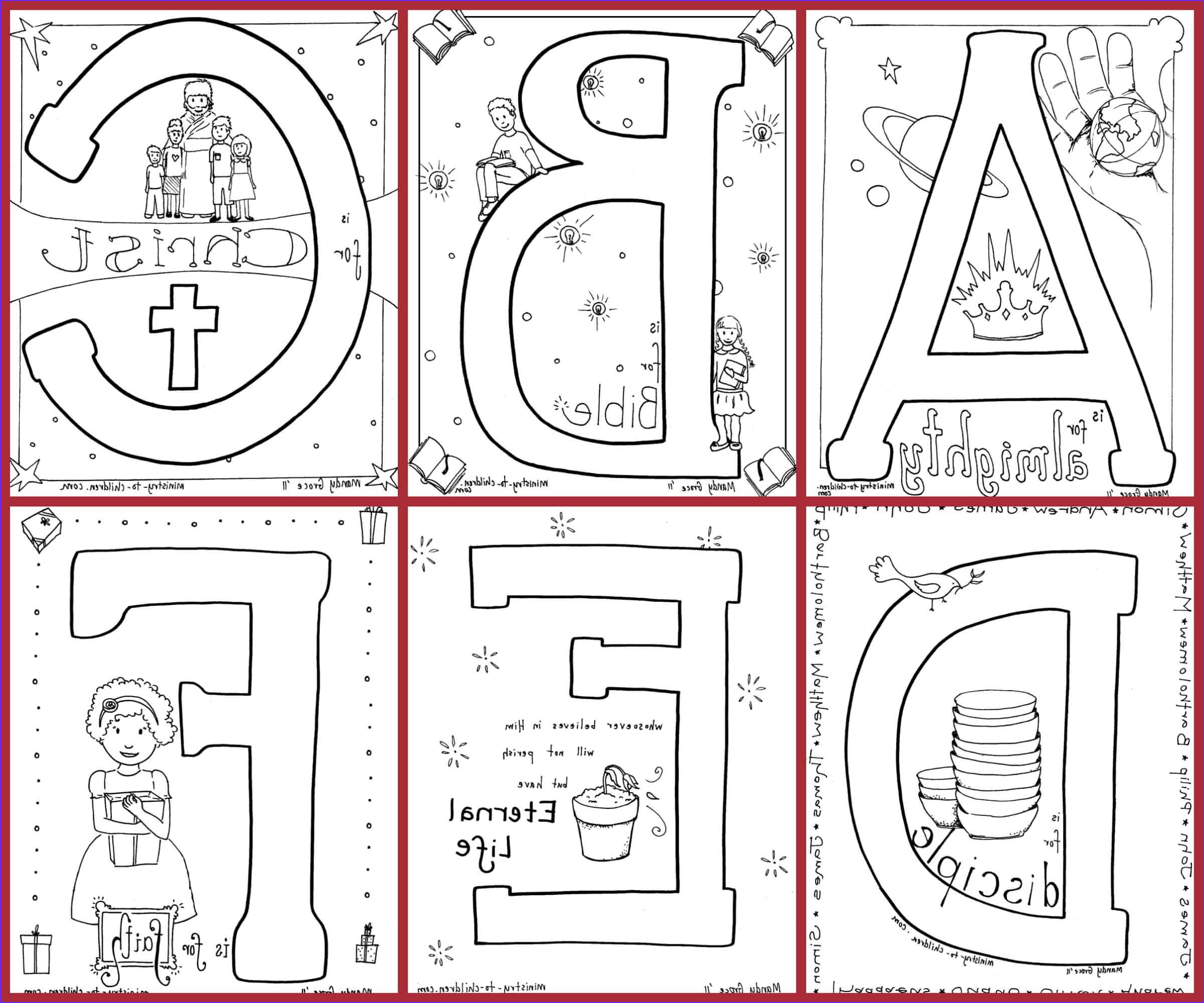 Free Printable Alphabet Coloring Pages Beautiful Stock Bible Alphabet Coloring Pages Free