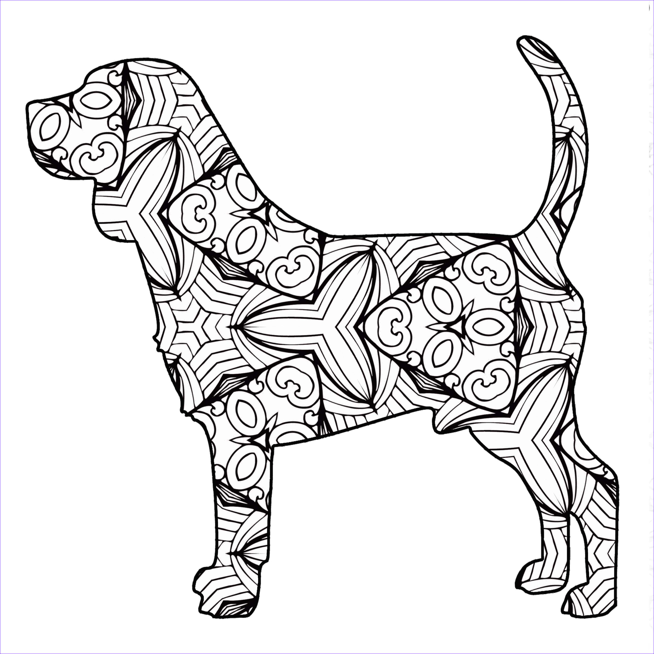 Free Printable Animal Coloring Pages Inspirational Photography 30 Free Coloring Pages A Geometric Animal Coloring