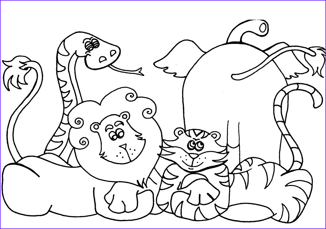 Free Printable Animal Coloring Pages New Photos Free Printable Preschool Coloring Pages Best Coloring