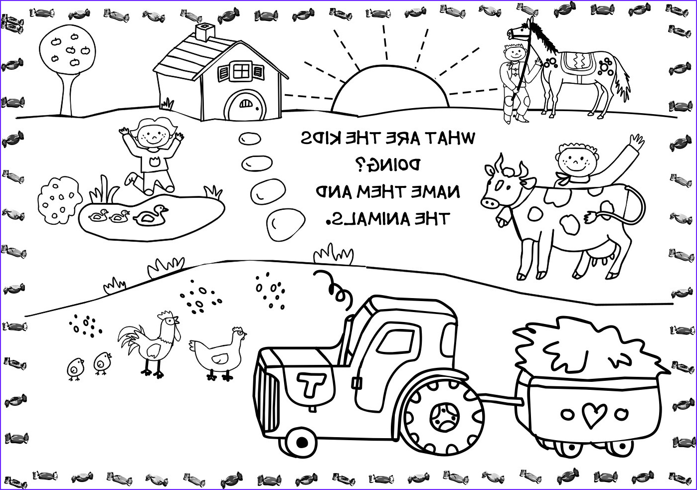 Free Printable Animal Coloring Pages Unique Collection Free Printable Farm Animal Coloring Pages for Kids