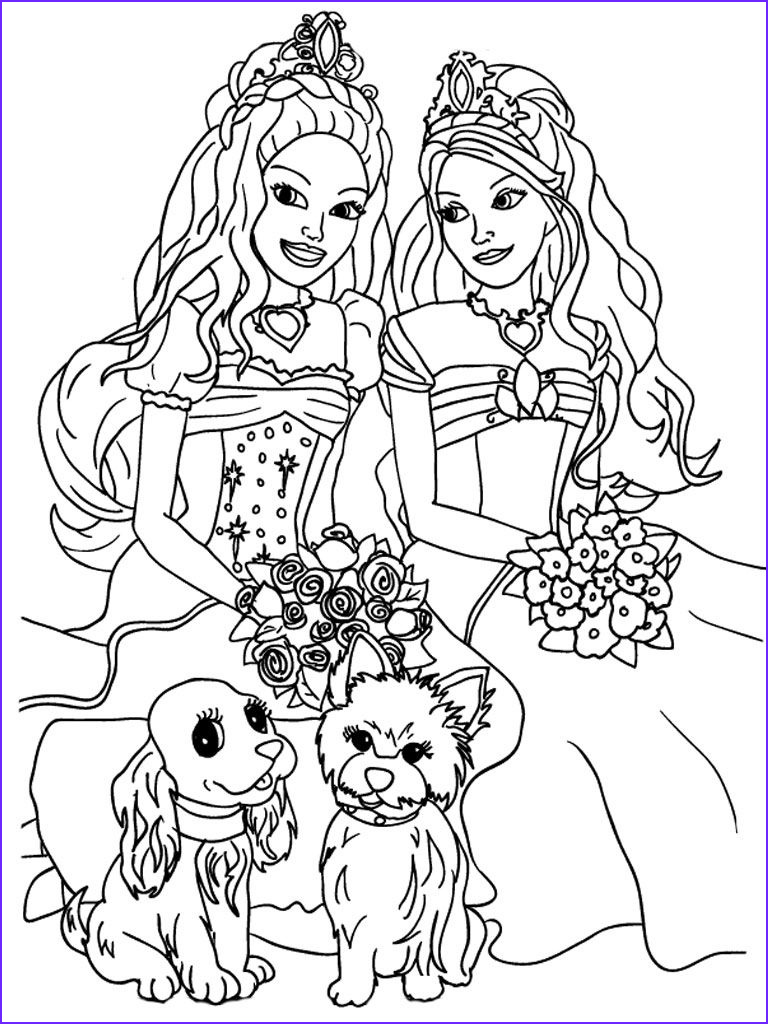 Free Printable Barbie Coloring Pages Unique Photography Kids Coloring Sheets