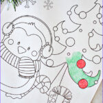 Free Printable Christmas Coloring Sheets Beautiful Images Free Printable Christmas Coloring Pages Crazy Little