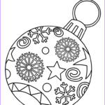 Free Printable Christmas Coloring Sheets Cool Stock Christmas Ornament Coloring Pages Best Coloring Pages