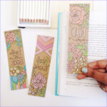 Free Printable Coloring Bookmarks Awesome Photography Free Coloring Bookmarks To Make Your Reading Colorful