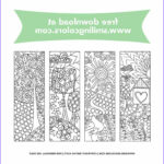 Free Printable Coloring Bookmarks Awesome Photos Bookmarks To Color That You Can And Enjoy Now
