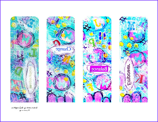 Free Printable Coloring Bookmarks Beautiful Photos Free Printable Mixed Media Bookmarks atop Serenity Hill