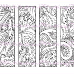 Free Printable Coloring Bookmarks Best Of Stock Printable Bookmark Coloring Page Book Mark Adult Instant