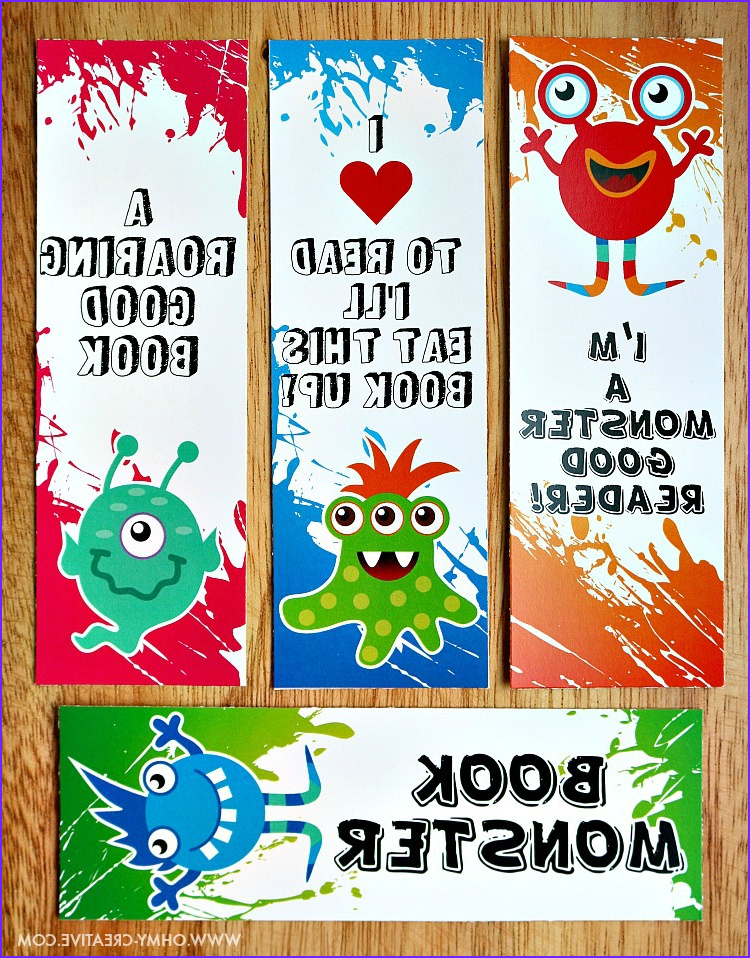 Free Printable Coloring Bookmarks Cool Stock Printable Bookmark Coloring Pages for Kids Oh My Creative