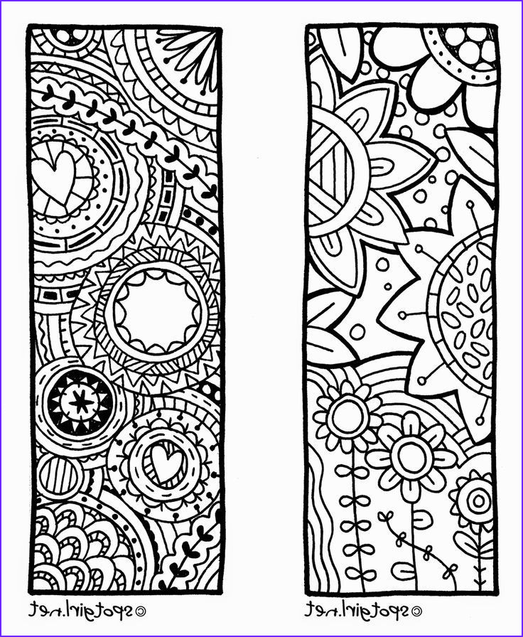 cool bookmarks to print black and white