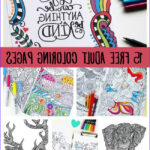 Free Printable Coloring Books For Adults Beautiful Collection Printable Coloring Pages For Adults 15 Free Designs