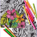 Free Printable Coloring Books For Adults Cool Image Free Adult Coloring Pages Happiness Is Homemade