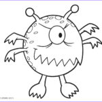 Free Printable Coloring Pages Cool Gallery Free Printable Monster Coloring Pages For Kids