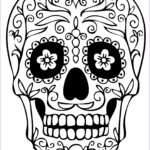 Free Printable Coloring Pages Elegant Collection Sugar Skull Coloring Pages Best Coloring Pages For Kids