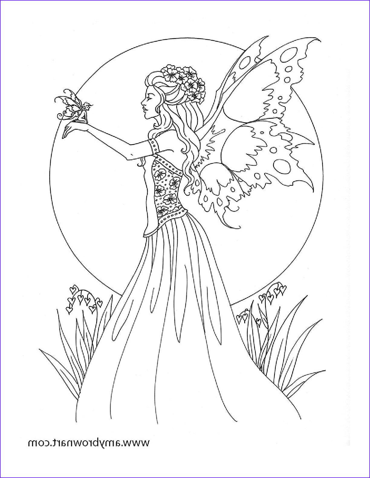 Free Printable Coloring Pages for Adults Fairies Inspirational Photos Free Amy Brown Fairy Coloring Pages