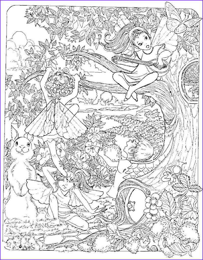 Free Printable Coloring Pages for Adults Fairies Luxury Image Trends for Very Difficult Coloring Pages for Adults