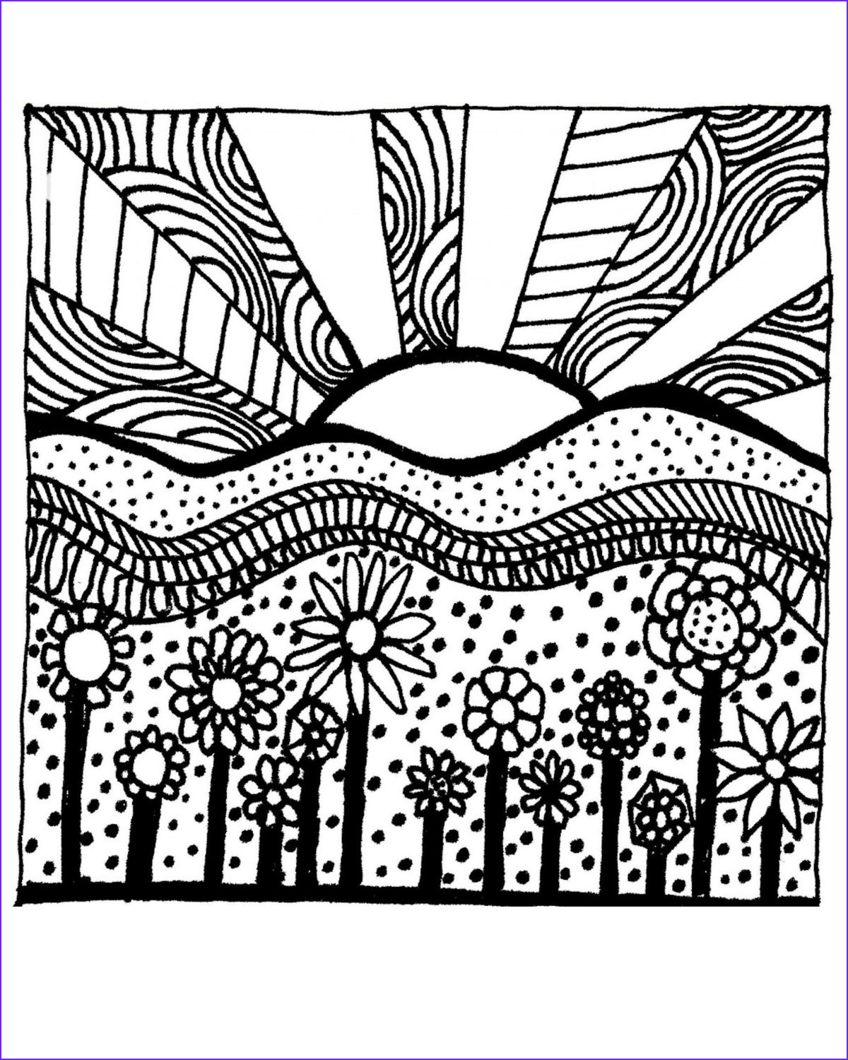 9 Cool Free Printable Coloring Pages for Adults Only Gallery