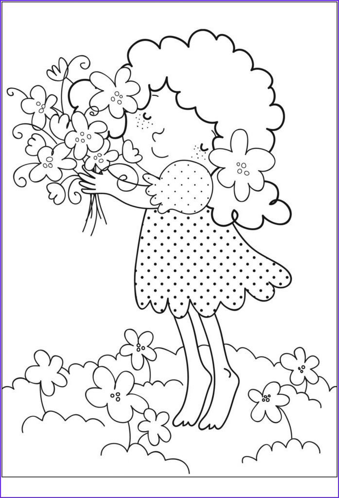 Free Printable Coloring Pages for toddlers Elegant Gallery Free Printable Flower Coloring Pages for Kids Best