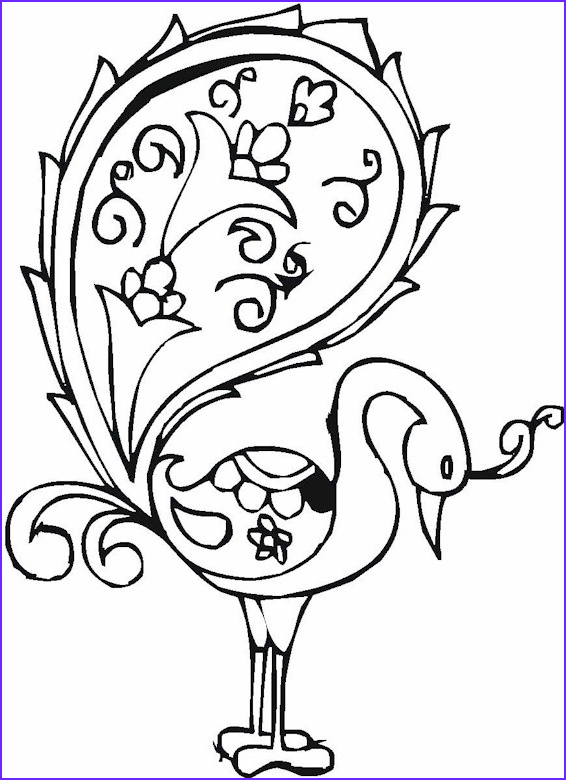 Free Printable Easy Adult Coloring Pages Inspirational Gallery Birds3 566×780 Patterns Quilling