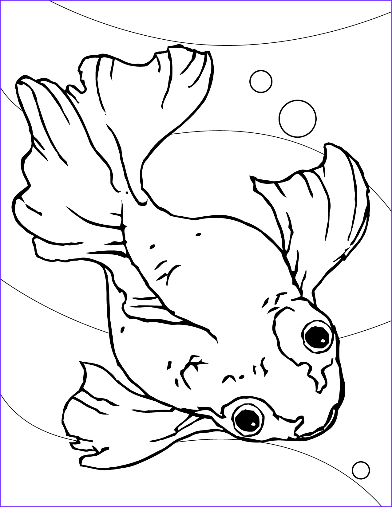 Free Printable Fish Coloring Pages Awesome Gallery Free Printable Goldfish Coloring Pages for Kids