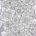 Free Printable Flower Coloring Pages For Adults Inspirational Stock Alisaburke Free Spring Coloring Page