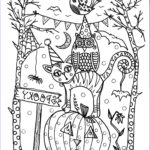 Free Printable Halloween Coloring Pages Adults Awesome Image 5 Pages Instant Download Halloween Coloring Pages 5