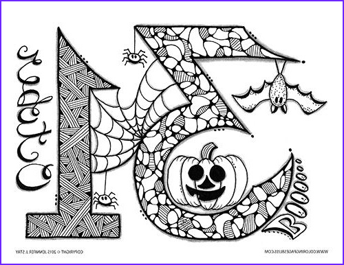 Free Printable Halloween Coloring Pages Adults Beautiful Images Adult Coloring Pages Craft