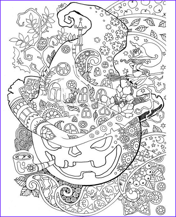 Free Printable Halloween Coloring Pages Adults Inspirational Gallery Halloween Adult Coloring Book Pdf Coloring Pages