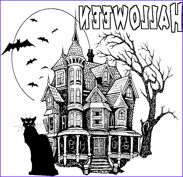 teen or adult halloween coloring pages