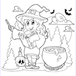 Free Printable Halloween Coloring Pages For Kids Beautiful Images Free & Printable Halloween Coloring Pages Updated
