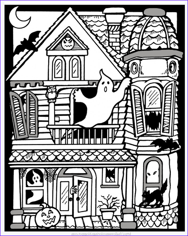Free Printable Halloween Coloring Pages for Kids Cool Photos Printable Halloween Coloring Pages Printable Halloween